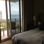 bedroom balcony with view of ocean and intracoastal
