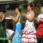Fiesta held during our stay - lots of colour and dancing
