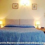 www.florenceroomshotelbijou.com -  Hotel Bijou's double room