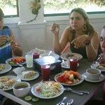 almuerzo en el hotel sol caribe campo