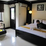 Our room (Indra).