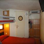 Chambre de trois lits simples
