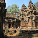 Beautiful Banteay Srei.