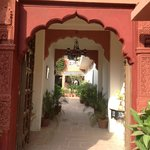 entrance to Jagat Villa's