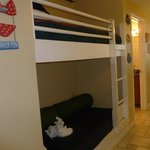 Bunk Beds, unit sleeps 6, which was nice
