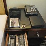 Telefon + Steuerung für das Licht und die Klimaanlage