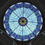 Glaskuppel über der Lobby