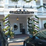 Entrance to the Grand Hotel