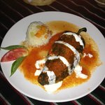 chile relleno with seafood