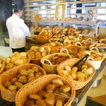 breads, rolls, buns ... anything you can ask for