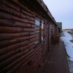 the rooms facing Hekla.
