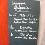 Info of the restaurant