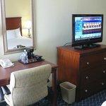 Work desk & new TV