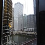 Chicago view from the room