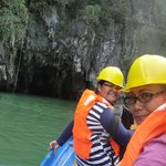 Conquered the waves just to see the Underground River