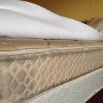 filthy mattress.
