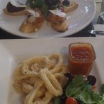 Calamari & Bruschetta