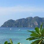 View from Phi Phi Hill resort - long beach