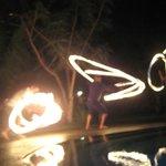 fire dancin'!