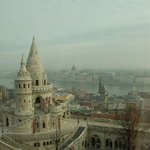 View of Budapest from our room
