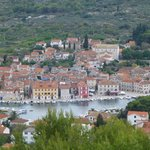 Starigrad, HVAR, from hilltop Cross.
