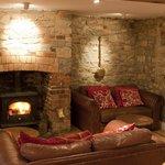 Bar and sofas