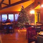 Interior with Christmas tree