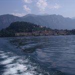 vue sur Bellagio depuis le ferry