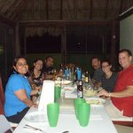Christmas Dinner at Los Alcatraces Cozumel