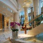 Bright & light hotel lobby