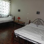 The beds, comfortable rooms with wooden floors, spacious