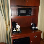 Mini bar e microonde