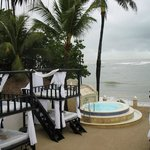 VIP Beach area