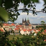 Genius loci of Petrin park with a view of the Cathedral of St. Vitus is unrepeatable.