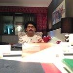 Mansoor at hotel royal international Abu Dhabi