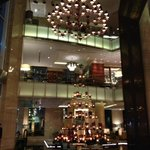 Lobby with X'mas Deco