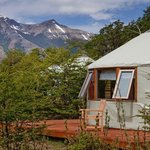 Six eco-friendly yurts