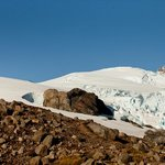 Helicopter tour to the Mt. Melimoyu glacier
