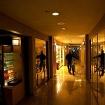 Il corridoio tra la reception e l'ascensore, ce lo facevano percorrere in bici, ottimo servizio