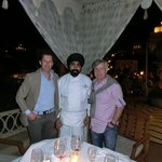 The famous Executive Chef Deep Mohan Singh Arneja