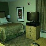 TV & Bed