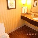Half bath off foyer