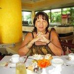 desayunando con mi mujer