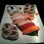 Nami sushi platter. $20