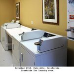 Coin laundry room ($2.75 total for soap, wash & dry)