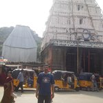 A view from Outside the Srikalahasti temple