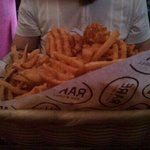 large french fry tasting basket