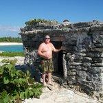 Small ruin near beach.