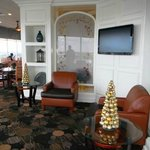 Harborview Restaurant sitting area