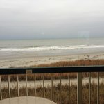The Oceanfront view from the room